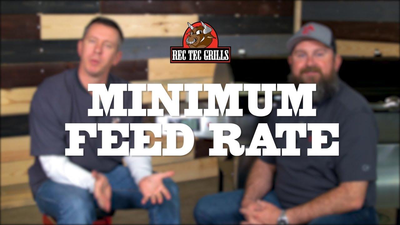 Wi-Pellet WiFi Controller • Minimum Feed Rate | REC TEC Grills