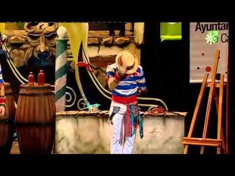 "Comparsa ""La serenissima"": CUARTOS del Carnaval Cádiz 2012"