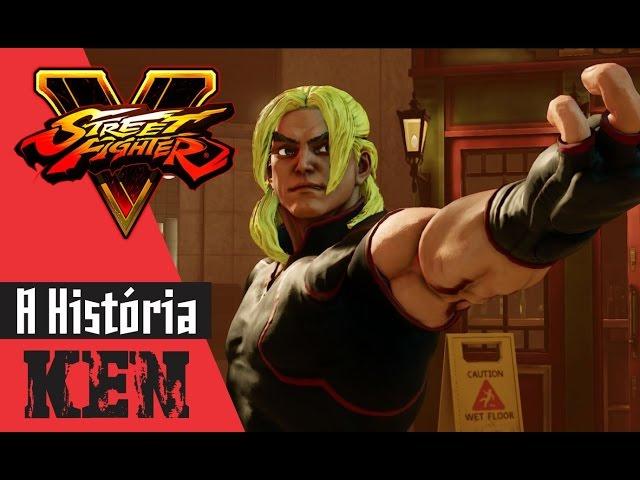 Street Fighter V - A história de Ken