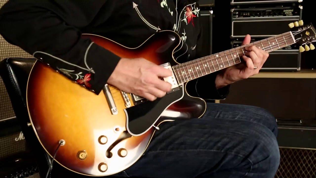 Gibson Memphis 1959 Es 335 Td Vos Sn A05890 Youtube