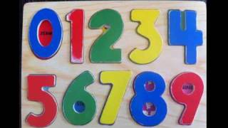 Learn to count, Learning Numbers 123 in English.
