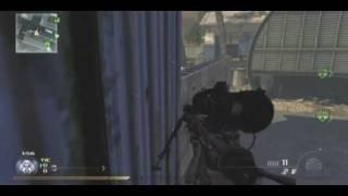 Modern Warfare 2: WTF Round Ending kill