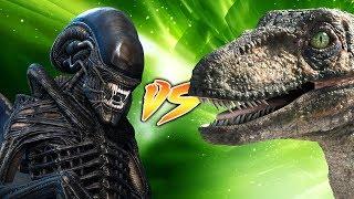 VELOCIRAPTOR VS XENOMORPH [Who Would Win?]