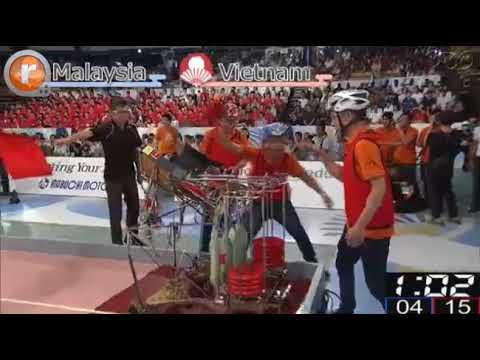 ABU Robocon 2017 Japan Final Malaysia vs Vietnam (Winner)