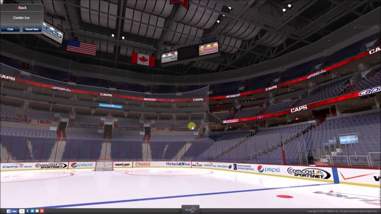 d0c64e83065 VirtualStadiumTour (NHL   NBA) Verizon Center (Washington Wizards   Washington  Capitals)