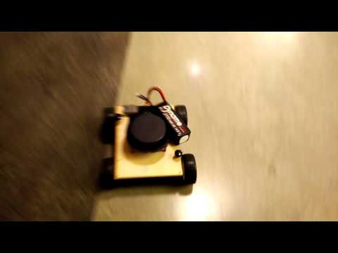 Lidar based autonomous rover