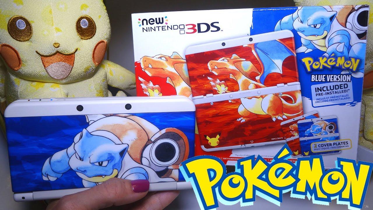 Nintendo 3ds Pokemon Games : Opening pokemon th anniversary edition new nintendo ds bundle