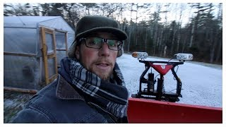 Prepping the Chicken Coop for Winter ~ FAIL