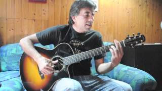 Firth of Fifth (Genesis) on acoustic guitar - Stefano Mirandola