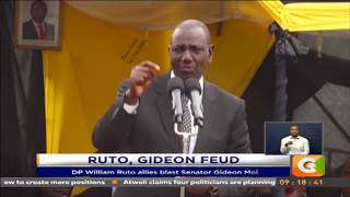 DP William Ruto allies blast Senator Gideon Moi