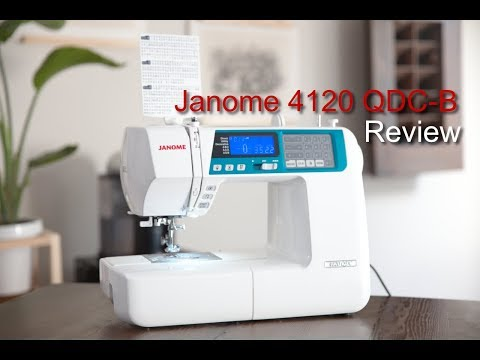 Janome 4120 QDC B Review