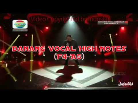 Danang Vocal High note (F4-A5)