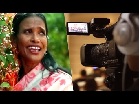 Download Lagu  Ranu Mandal is acting on her own new song. Ranu Mondal Interview on Channel Mp3 Free