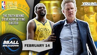 Download Kerr Gets Himself Ejected Once Trail Blazers Solve The Warriors Mp3 and Videos