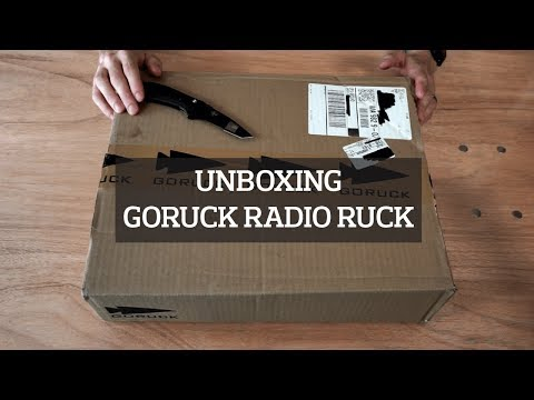 goruck-radio-ruck-backpack-unboxing-&-preview