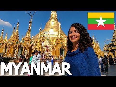 FIRST TIME IN MYANMAR: EXPLORING YANGON 🇲🇲