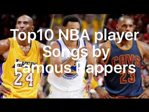 Top 10 songs made about NBA players by famous rappers!!! Lebron,curry,Kobe,Irving,Jordan, and more!!