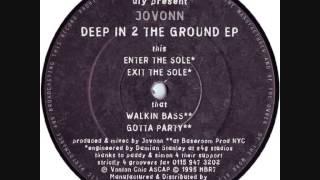 Jovonn - Exit The Sole