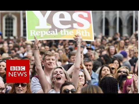 How the Irish abortion referendum unfolded - BBC News