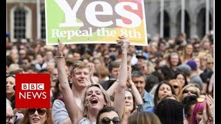 How the Irish abortion referendum unfolded - BBC News