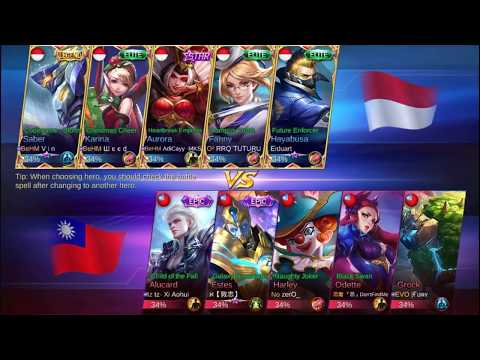 INDONESIA VS TAIWAN FANNY INDO MVP GET ROADSTER - Tour LIVE STREAMING