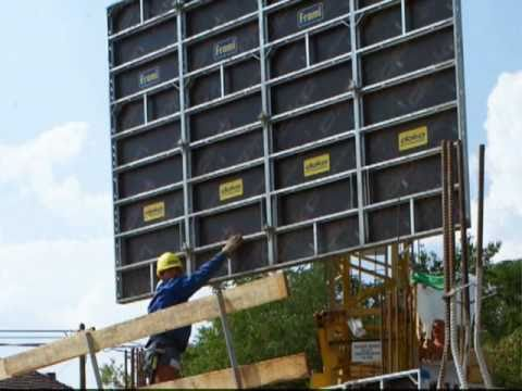 Industry Leading Lightweight Wall Formwork System Youtube