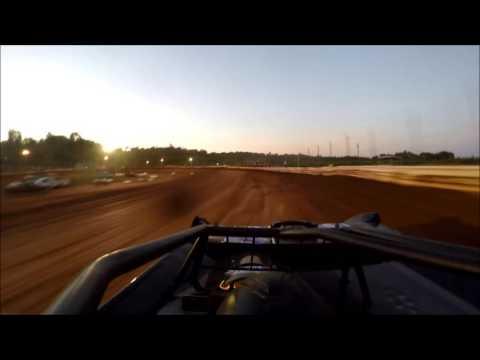 Jeremy Berwanger GoPro Late Model Heat @ Midway Speedway 7-1-2016