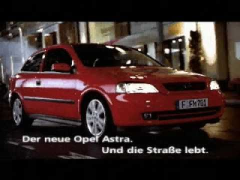 opel commercial 1998 opel astra g youtube. Black Bedroom Furniture Sets. Home Design Ideas