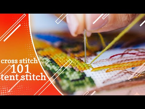 Tent Stitch | Tuesday Tip