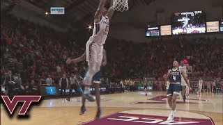 Virginia Tech's Ahmed Hill Puts Exclamation Point on Win