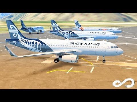Infinite Flight Global | Air New Zealand - A320 - 200 | Queenstown - Christchurch