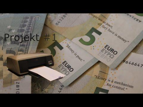 Geld (be)drucken und waschen - Projekt #1.2