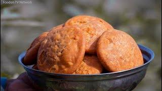 Moong Dal Kachori Recipe | Khasta Kachori Recipe | Indian Village Cooking