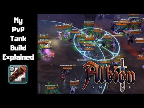 My PvP TANK Build Explained    Albion Online MMORPG 2019
