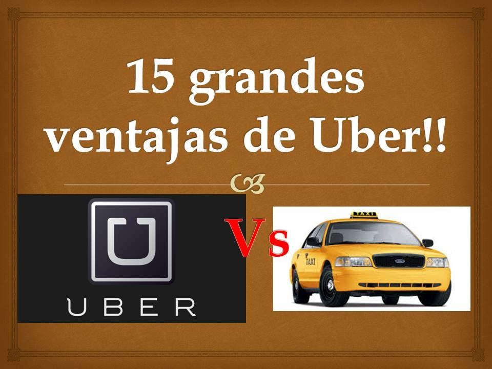 15 ventajas de Uber vs Taxis!!! - YouTube