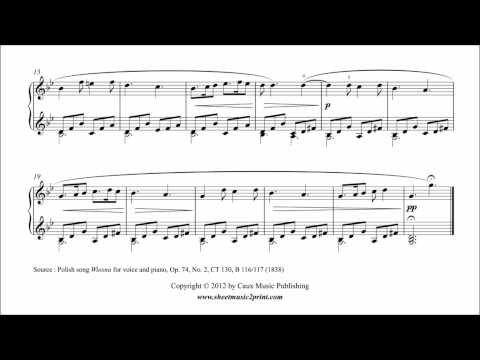 Chopin : Wiosna - Spring, Op. 74, No. 2 - ABRSM 2013-2014 Piano Grade 3 B1