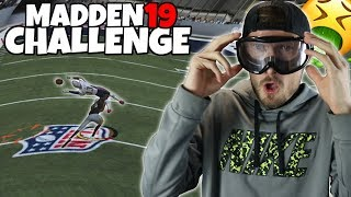 THE HARDEST DRUNK GOGGLES DRAFT CHALLENGE!! Madden 19 Challenge