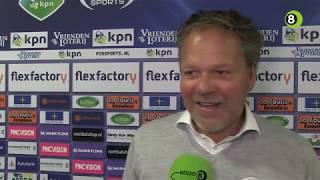 Henk de Jong na De Graafschap-Willem II: 'Dat is uniek'