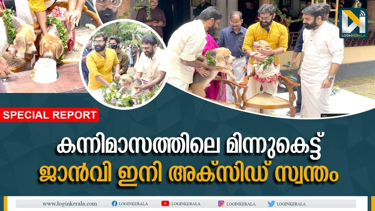 വൈറലായി തൃശൂരിലെ നായക്കല്യാണം    Dog Marriage in Kerala  