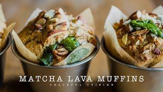 Matcha Lava Muffins (vegan) ☆ 抹茶ラヴァマフィンの作り方