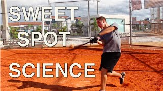baseball sweet spot science