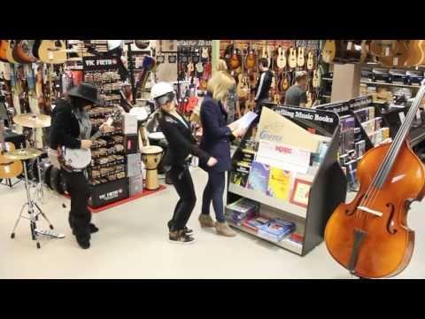 Harlem Shake Guitar shop Music Max Slovenia Ljubljana - kitara, ukulele