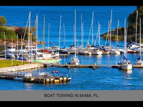 Fast Response Marine Towing & Salvage Boat Towing Miami FL