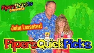 JOHN LASSETER MeGa-AwEsOmE Interview EXCLUSIVE with PIPER REESE!