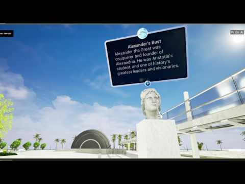 Bibliotheca Alexandrina Virtual Tour
