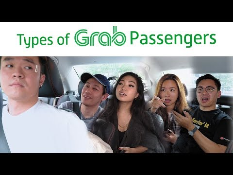 Types Of Grab Passengers