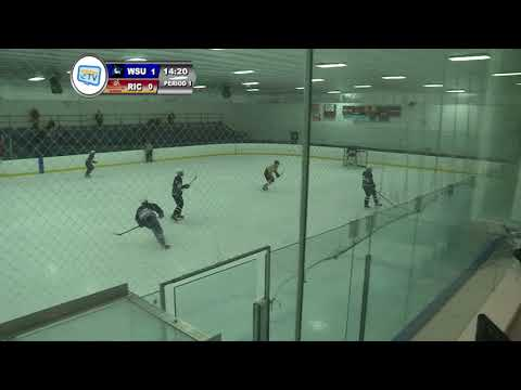 RIC Hockey vs Westfield State 10-20-17