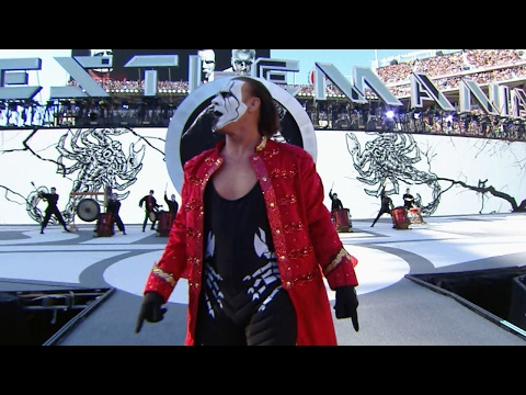 Thumbnail: Sting makes an iconic entrance on The Grandest Stage of Them All: WrestleMania 31