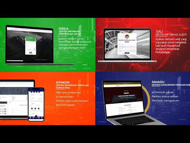Peluncuran Program Digitalisasi Pengawasan  Inspektorat Jenderal Kementerian Perhubungan