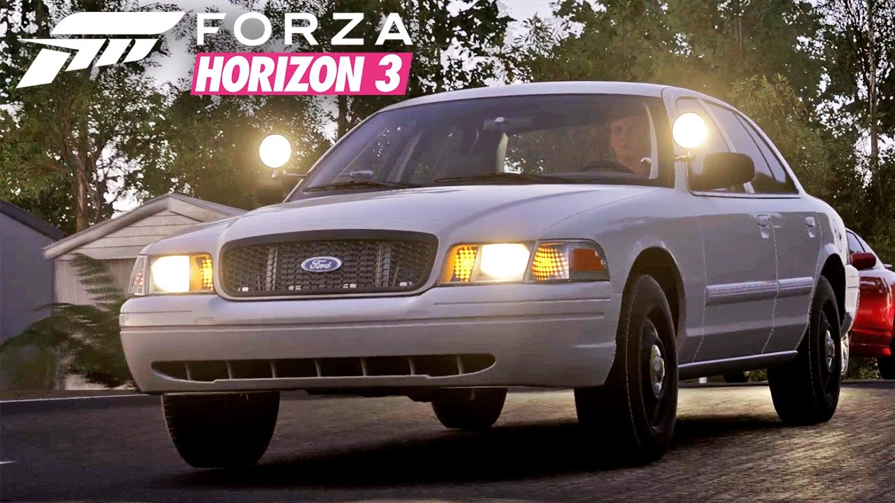 forza horizon 3 let 39 s drive the crown vic 2010 ford. Black Bedroom Furniture Sets. Home Design Ideas